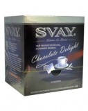 Чай Svay Chocolate Delight Черный шоколад, клубника, ваниль, 20*2г