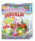 Пасхальный набор для семейного творчества ДЕКУПАЖ (краска для яиц)