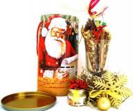 Подарочный набор Письмо от Деда Мороза (смесь для глинтвейна,мед,бокал)