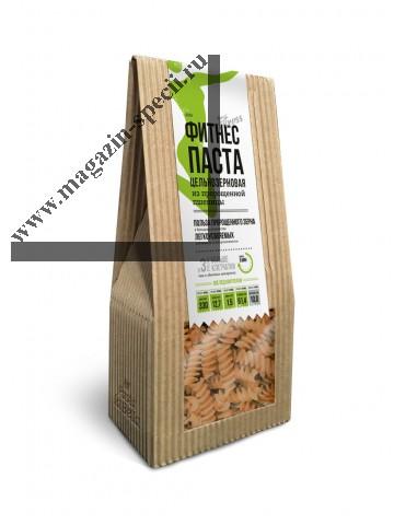 Фитнес Паста цельнозерновая из пророщенной пшеницы (макароны)