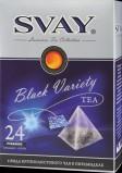 Набор чай в пирамидках Svay Black Variety (Цейлонский,Кенийский,Китайский), 24*2г