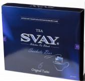 Набор чай в саше Svay Sachets Bar (Черный, Зеленый, Травяной), 60*2г